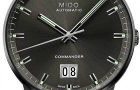 """瑞士美度表指挥官系列""""纪念日""""大日历全自动机械腕表传奇上市"""