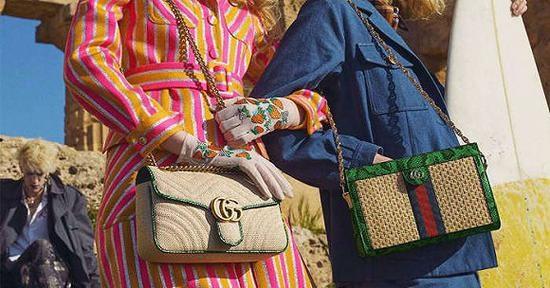 图片来源:Gucci低线城市奢侈品消费猛涨,美妆和入门级商品最受欢迎